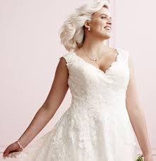 Plus Size Wedding Dress Guide Davids Bridal