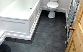 Black Slate Bathroom Floor Slate Floor Bathroom Best Slate Tile