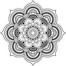 Dessin Mandala Fleurl Duilawyerlosangeles