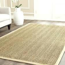 seagrass rug 10 x 14 casual natural fiber multi area