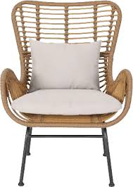 tarnowski wicker patio chair with