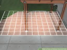 image titled paint an outdoor concrete patio step 10