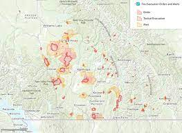 The july mountain fire is burning about 45 kilometres southwest of merrit and west of highway 5. British Columbia Bracing For Very High Temperatures As Fires Prompt Evacuations Wildfire Today