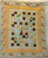Lovely panel quilt | Quilt Inspirations | Pinterest | Quilt, Ideas ... & Jungle Babies Patchwork Two sided Baby Quilt, Pieced with a Jungle Scene  Panel Backing via · Jungle ThemeQuilt DesignsBaby ... Adamdwight.com