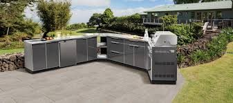 Cabinets For Outdoor Kitchen Outdoor Kitchen Aluminum Newage Ca