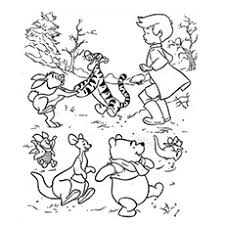 Small Picture Top 20 Free Printable Cute Winnie The Pooh Coloring Pages Online