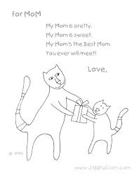 Small Picture Mothers Day Poems For Little Kids Art ideas Pinterest