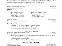 Resume For Mba Application New Sample Mba Application Resume Delectable Mba Application Resume
