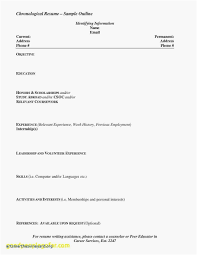 Resume Templates High School Students New Resume Templates High