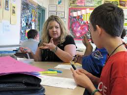 what a florida middle school has learned so far teaching common monroe middle school teacher dawn norris talks to her students about how to write an essay
