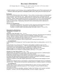 Pharmaceutical Sales Resume Objective Best of Pharmaceutical Sales Resume Cover Letter Samples Resume Templates