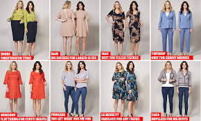Best Designer Dresses For Curvy Figures Which High Store Is Best For Your Shape Daily Mail Online
