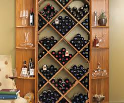 ... Large-size of Comfy Preparing Zoom Diy Diamond Bin Dual Quarter Round Shelf  Wine Rack ...