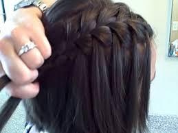 Hairstyle Waterfall the waterfall braid diy cute girls hairstyles youtube 1917 by stevesalt.us