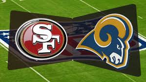 Image result for 49ers vs rams