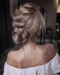 Updo Hairstyles 1 Stunning Braided Updo Hairstylesbraid Wedding Hairstyles Updo Loose Braid