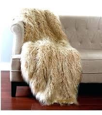 mongolian lamb rug blush fur rug gy taupe faux throw 2 sizes mongolian curly lamb rug mongolian lamb rug