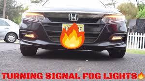 2018 Accord Fog Light Kit Installing Turning Signal Fog Lights On 2018 Honda Accord Sport