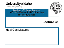 Department of Mechanical Engineering ME 322 – Mechanical Engineering ...