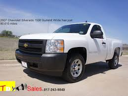 For Sale 2007 Chevrolet Silverado 1500 in Summit White has just ...
