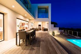 Outside deck lighting Deck Step Pickman Decors 10 Different Types Of Patio And Deck Lighting Ideas