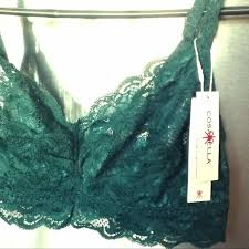 Cosabella Size Chart Nwt Made In Italy Green Lace Bralette 36b 36c 36d Nwt