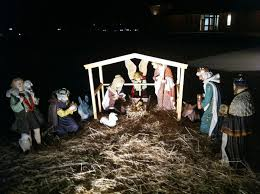 image of outdoor lighted nativity sets 1