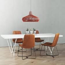 Cb2 Dylan Dining Table Set 3d Model Cgtrader