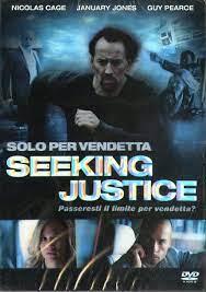 Cage, Jones, Pearce Seeking Justice - Solo Per Vendetta DVD