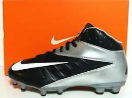 nike youth football cleats. get quotations · new nike vapor strike 3 3/4 td youth football cleats size 3.5y black t