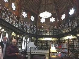the library at the oxford union