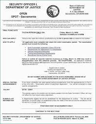 Security Guard Resume Template 2019 Resume Templates