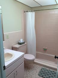 pink bathroom remodel the reveal
