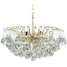 murano glass lighting pendants delicate tear drop chandelier