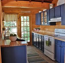 blue painted kitchen cabinets. Excellent Blue Painted Kitchen Cabinets Shaker Gray E