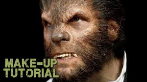 werewolf transformation makeup how to apply wolfman prosthetics you