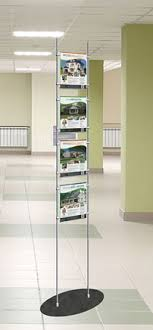 Steel Stands For Display Nova Display Inc Totem Display Stands Freestanding Rod Displays 16