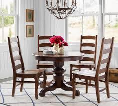 tivoli extending pedestal table wynn chair dining set