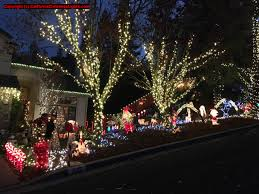 Castro Valley Christmas Tree Lighting Best Christmas Lights And Holiday Displays In Martinez