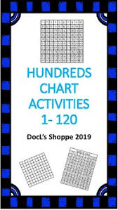 Hundreds Chart To 120 Hundreds Chart Activities 1 120 Print And Go