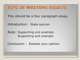 opinion essay  5 tips in writing essays