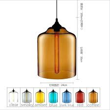 glass bell pendant light glass bell shade vintage pendant light industrial lamp style clear glass bell