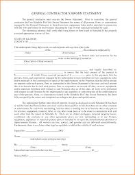 5 Sworn Statement Example Authorization Letter