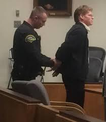 driver sentenced in crash that killed ken brackett corey tribble handcuffs