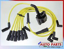gmc jimmy ignition wires spark plug wire ignition coil blazer s10 jimmy savana express hombre v6 4 3l fits gmc jimmy