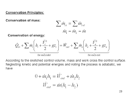 Chapter 5 Part 2 Mass and Energy Analysis of Control Volumes Study ...