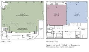 zellerbach hall floor plans
