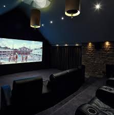 Small Picture Home cinema decor home theater contemporary with interior designed