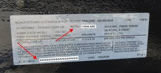 Road Trailer Identification Chart How To Obtain A Replacement Mso Or Vin For Your Felling