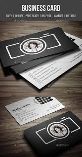 photography back of business card template